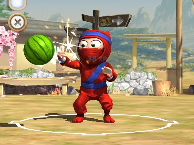 Clumsy ninja 1. 29. 0 apk + mod + data for android.