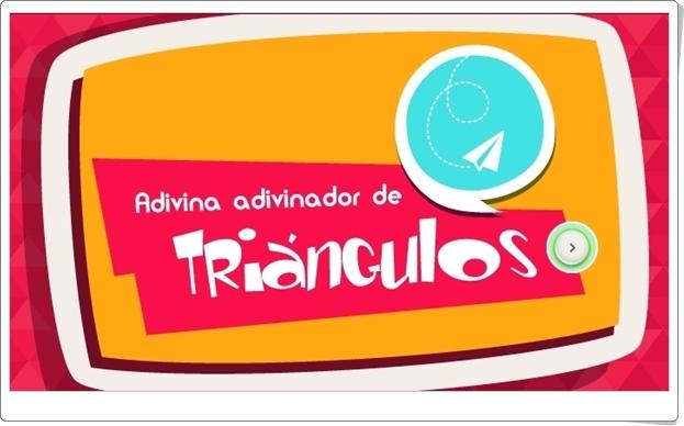 """""""Adivina Adivinador de Triángulos"""" (Juego de Geometría de Primaria)"""