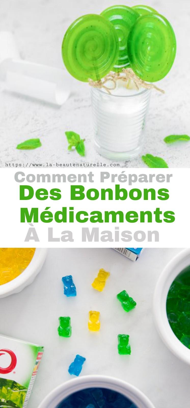 Comment Préparer Des Bonbons Médicaments À La Maison