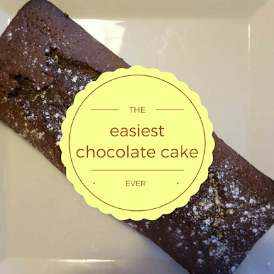 The easiest chocolate cake ever