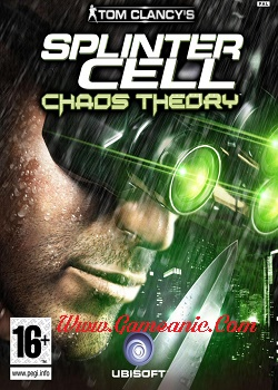 Tom Clancy's Splinter Cell Chaos Theory Game Cover
