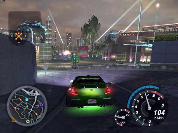 Need for Speed Underground 2 PC Game Play