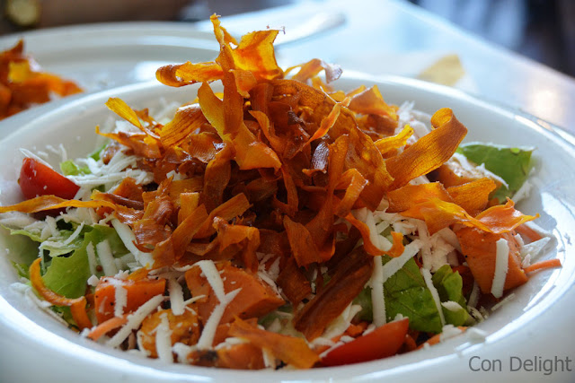 yam salad in greg cafe סלט בטטה ברשת גרג
