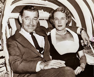 Kathleen Gretchen Williams and Clark Gable