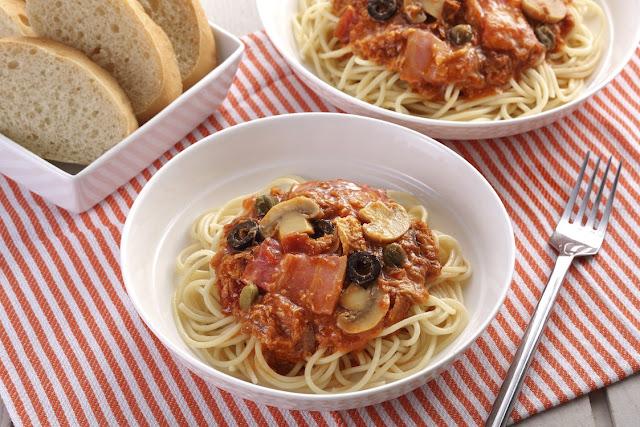 Pasta Arrabbiata ala Puttanesca Recipe