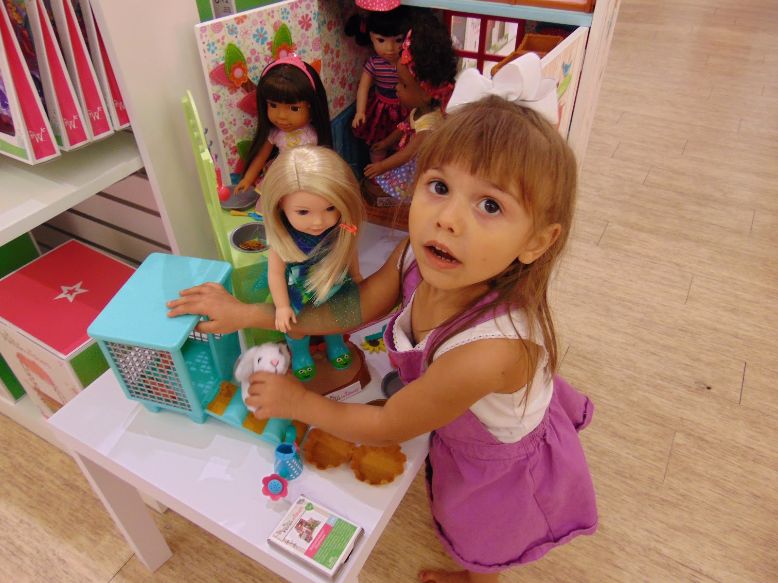 American Girl Doll Grand Opening At Washington Square Mall Simply