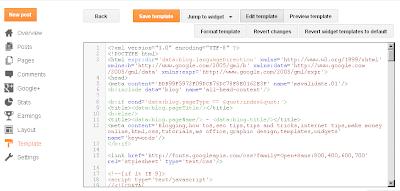New Blogger HTML Editor