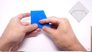 Cách gấp máy bay giấy phong cách Origami 7
