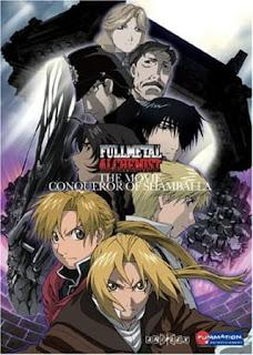 تقرير فيلم الخيميائي الفولاذي: احتلال شامبلا Fullmetal Alchemist: The Conqueror of Shamballa