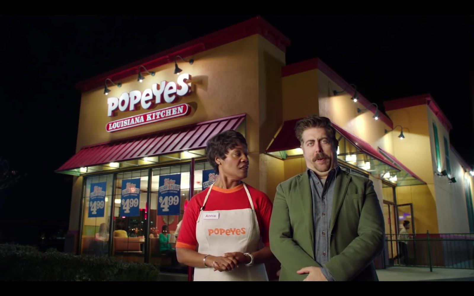 Spokeswoman Popeyes Chicken