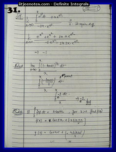definite integrals class 12-