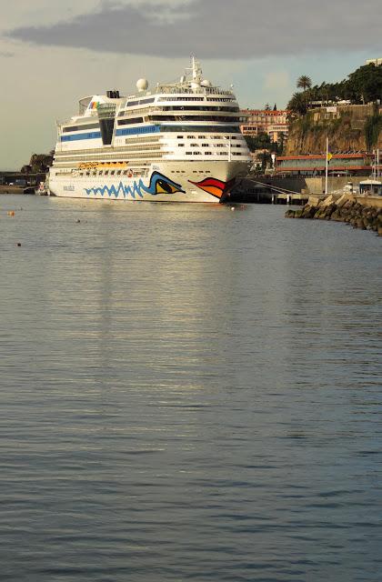 AIDAblu cruise ship will return to Funchal on november 30