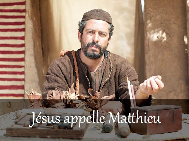 l'appel de Matthieu