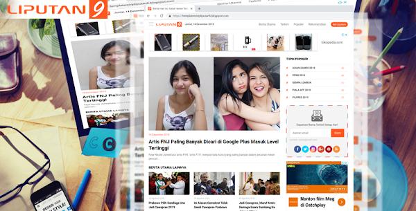 Liputan9 Premium Blogger Template