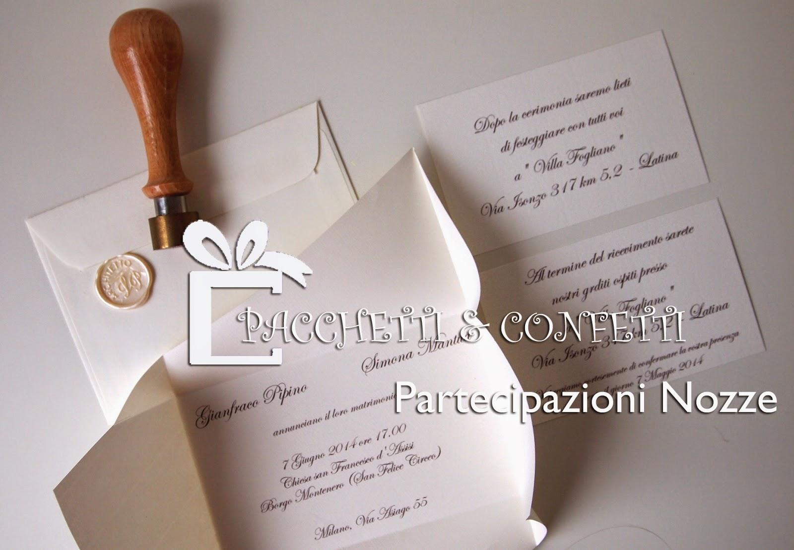 abbastanza Pacchetti e Confetti: Wedding Shop ER44