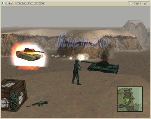 Army Men 3D PS1 Gameplay