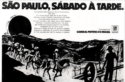 anos 70; propaganda década de 70; Brazil in the 70s; Brazilian advertising cars in the 70s; Oswaldo Hernandez;