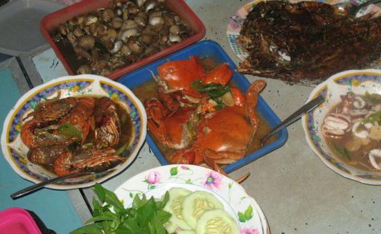 Pantai Depok Jogja Tempat Wisata Kuliner Seafood Di Bantul