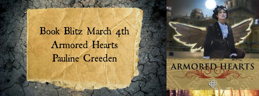 Armored Hearts by Pauline Creeden Book Blitz