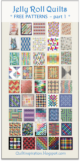 Quilt Inspiration Free Pattern Day Jelly Roll Quilts Part 1 Of 2