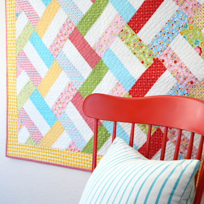 http://www.woodberryway.com/2016/04/easy-strip-quilt-pattern.html