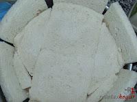 Puesta otra capa de pan de molde
