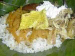 Kuliner Indonesia - nasi Liwet Wongso Lemu