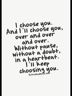 Choosing you Always