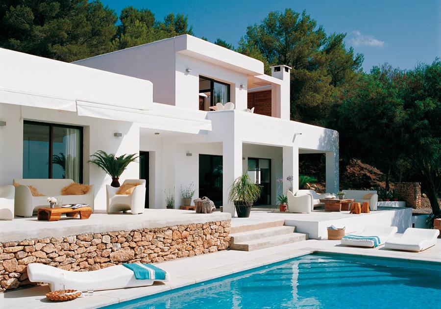 Vivir en una villa en Ibiza