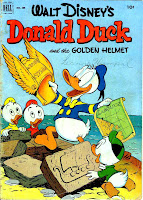 Donald Duck / Four Color Comics v2 #408 - Carl Barks 1940s comic book cover art