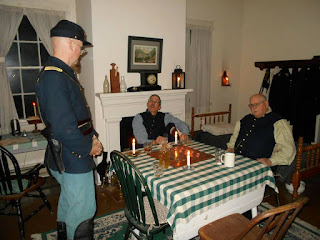 4th US Fort Steilacoom Christmas officers