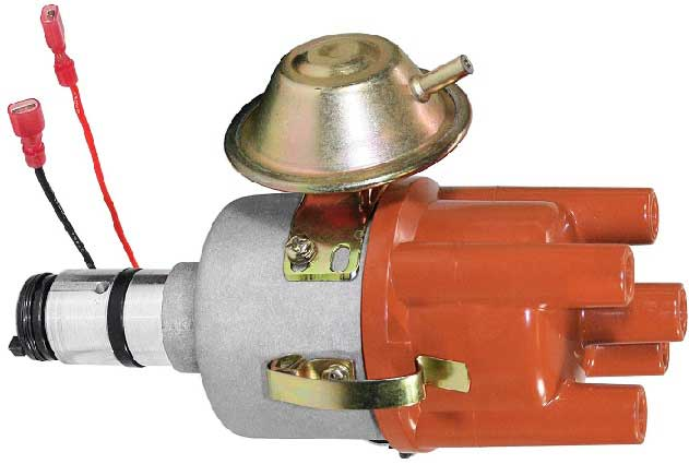 Centrifugal and Vacuum advance mechanism