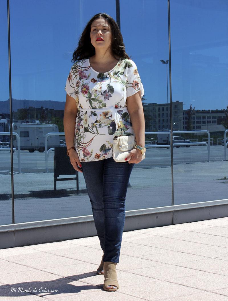 blusa para definir la cintura