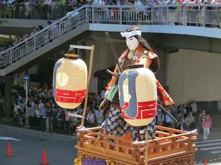 川名屋台囃子の山車