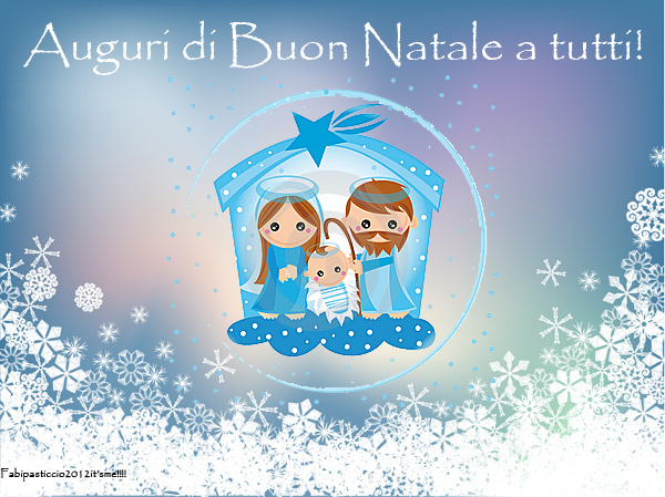 Auguri Di Buon Natale Affettuosi.Fabipasticcio Auguri Di Serenita E Gioia A Tutti Voi Buon Natale