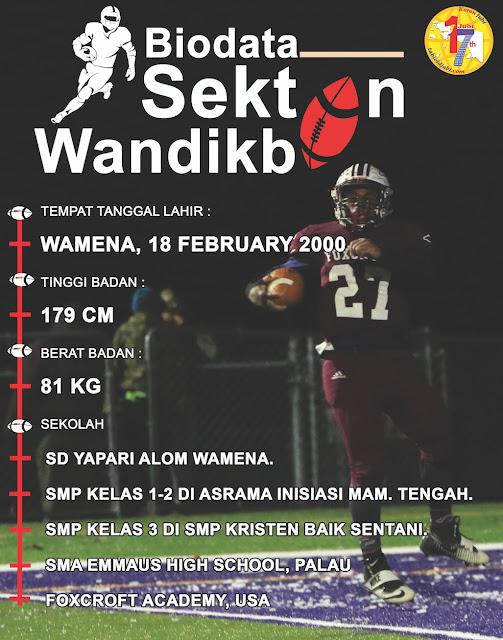 Sekton Wandikbo di Mata Orang Tuanya