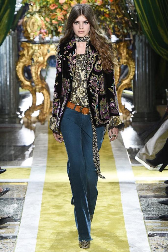 Показ Roberto Cavalli на неделе моды