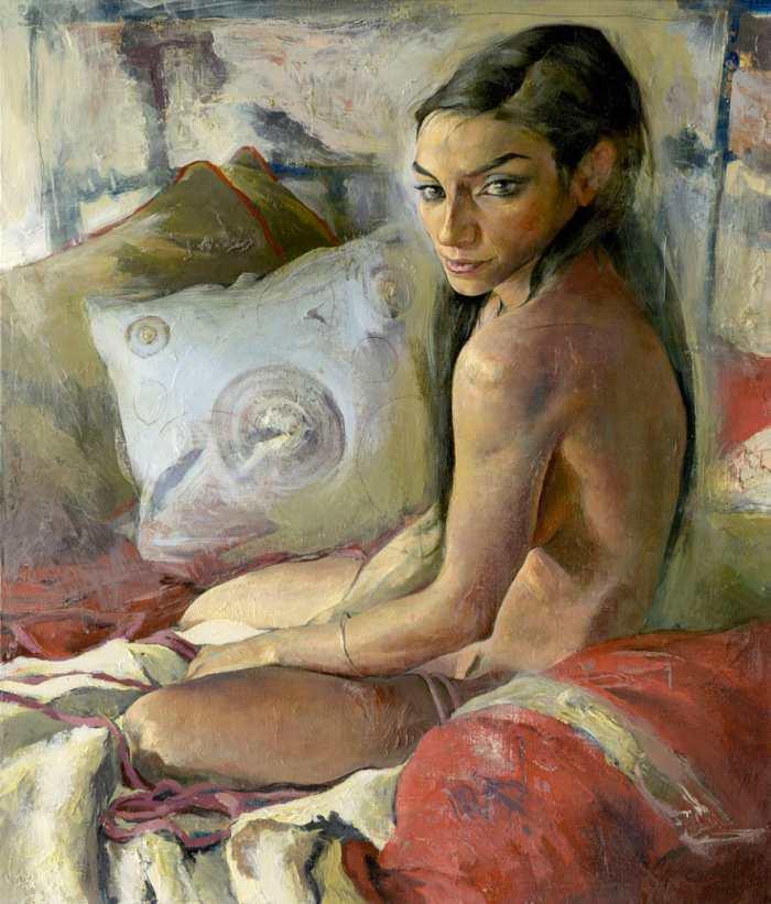 Смелый реализм и элементы абстракции. Kent Williams