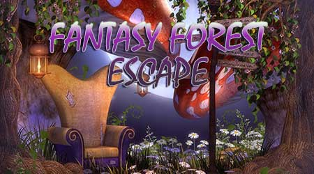 365Escape Fantasy Forest …