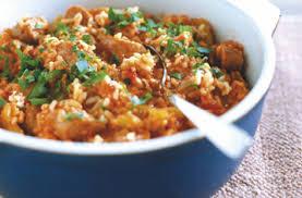 como preparar arroz español