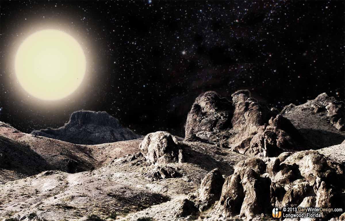 Space Alien Gazette: A S'WELL Voyage to Mercury