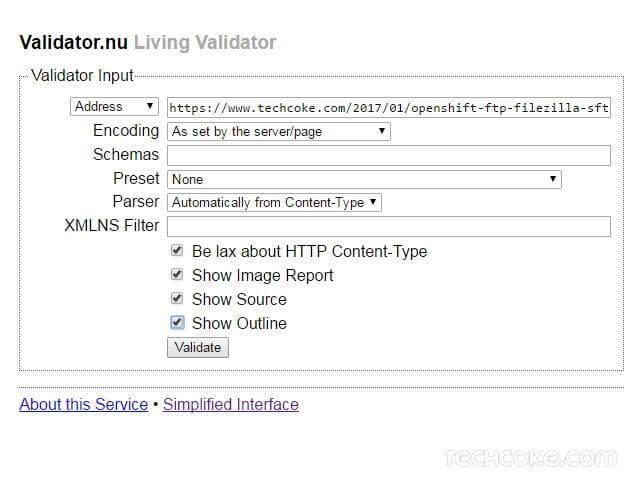 Validator.nu (X)HTML5 網頁 HTML/XHTML 線上驗證器_107