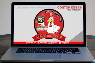 Desain Logo Mie Move On | Desain Online Murah Berkualitas