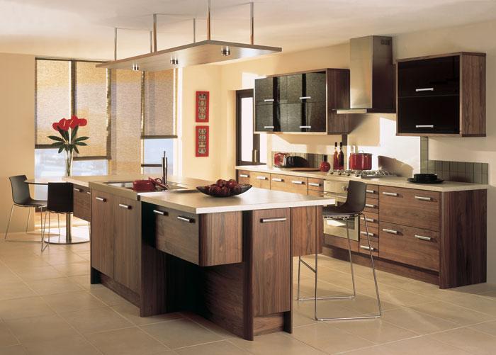 modernes id es de conception de cuisine d cor de maison. Black Bedroom Furniture Sets. Home Design Ideas