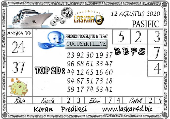 Prediksi Togel PASIFIC LASKAR4D 12 AGUSTUS 2020