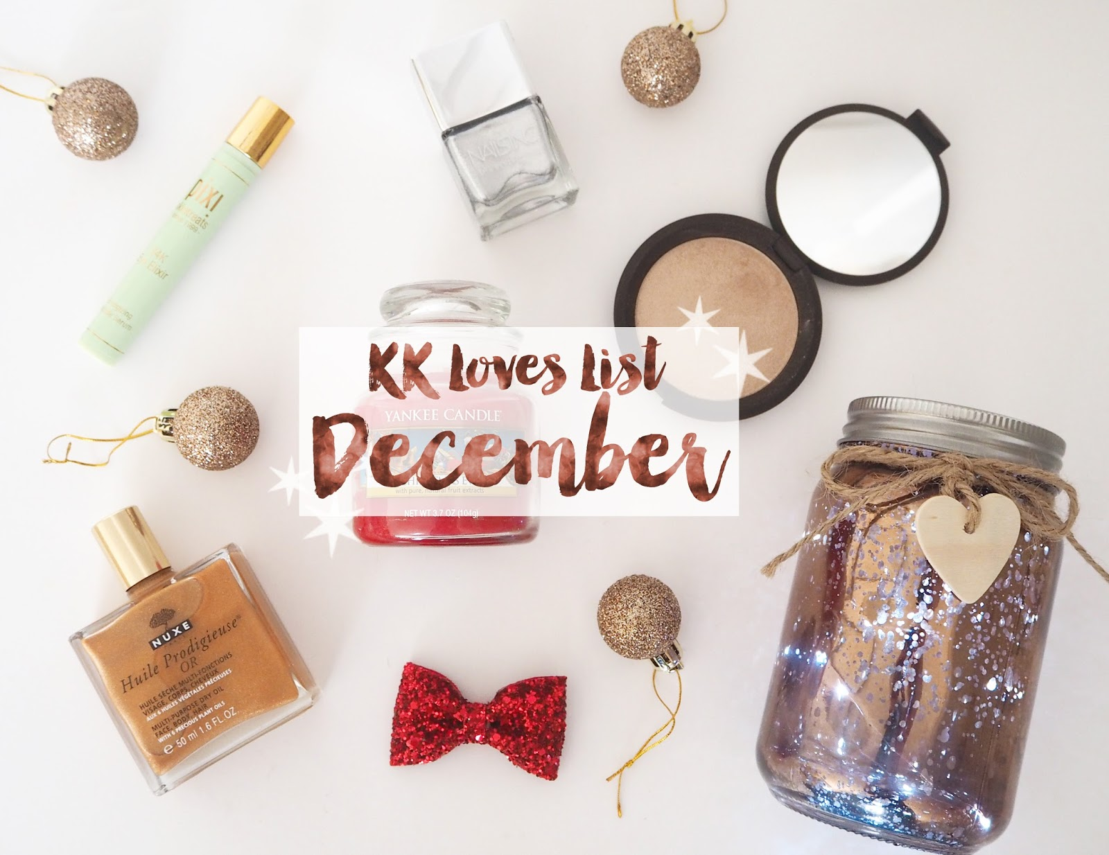 Loves List: December, Katie Kirk Loves, Favourites, UK Blogger, Beauty Blogger, Lifestyle Blogger, Fashion Blogger,