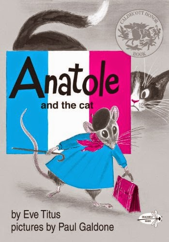 Anatole and the Cat, part of children's book review list about France