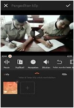 Membuat video slow motion di vivavideo hp Android