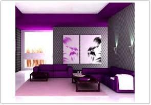 kombinasi warna cat ruang tamu menurut feng shui ungu