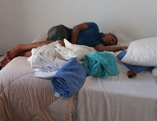 Ladrão escala prédio em Cuiabá e é flagrado dormindo em apartamento no 7º andar